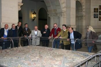 Besichtigung des hannoverschen Rathauses