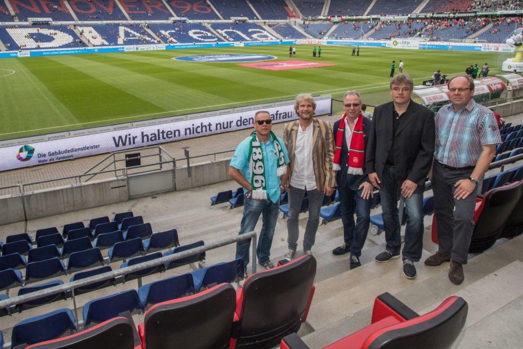 Hannover 96 Bannerwerbung