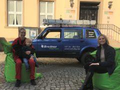 Interview vor historischer Kulisse: Nina Lange im Gespräch mit PR-Referentin Vanessa Erstmann